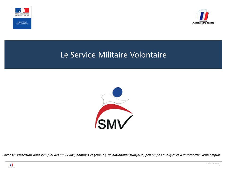 le service militaire volontaire
