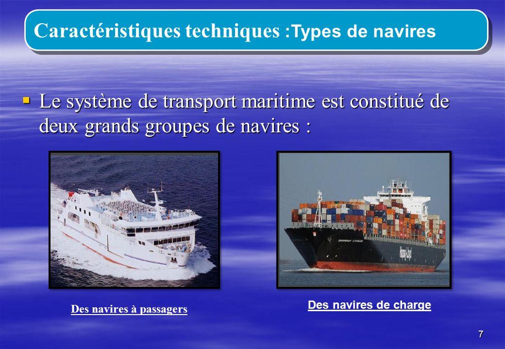 Des navires à passagers