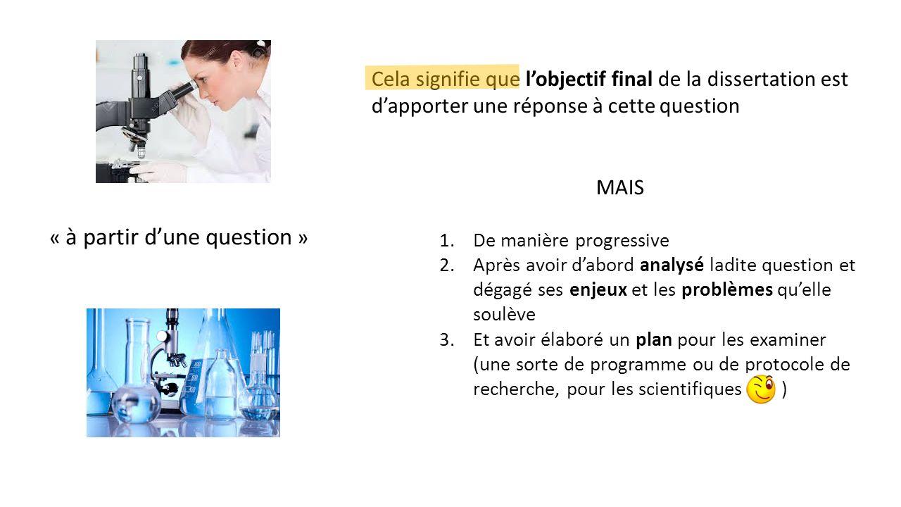 sujet de dissertation scientifique Candidats au bac s (scientifique) 2018, à quels sujets de philo vous attendre en juin prochain pour la dissertation, il y a deux types de sujets possibles.