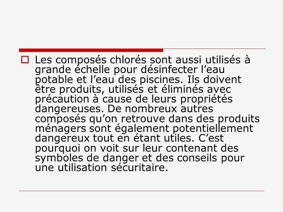 Les compos s chimiques ppt video online t l charger - Les produits menagers utilises dans le jardin ...