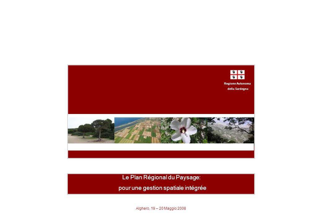 Le Plan Régional du Paysage: pour une gestion spatiale intégrée