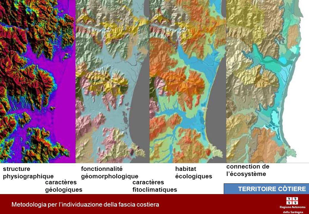 Metodologia per l'individuazione della fascia costiera