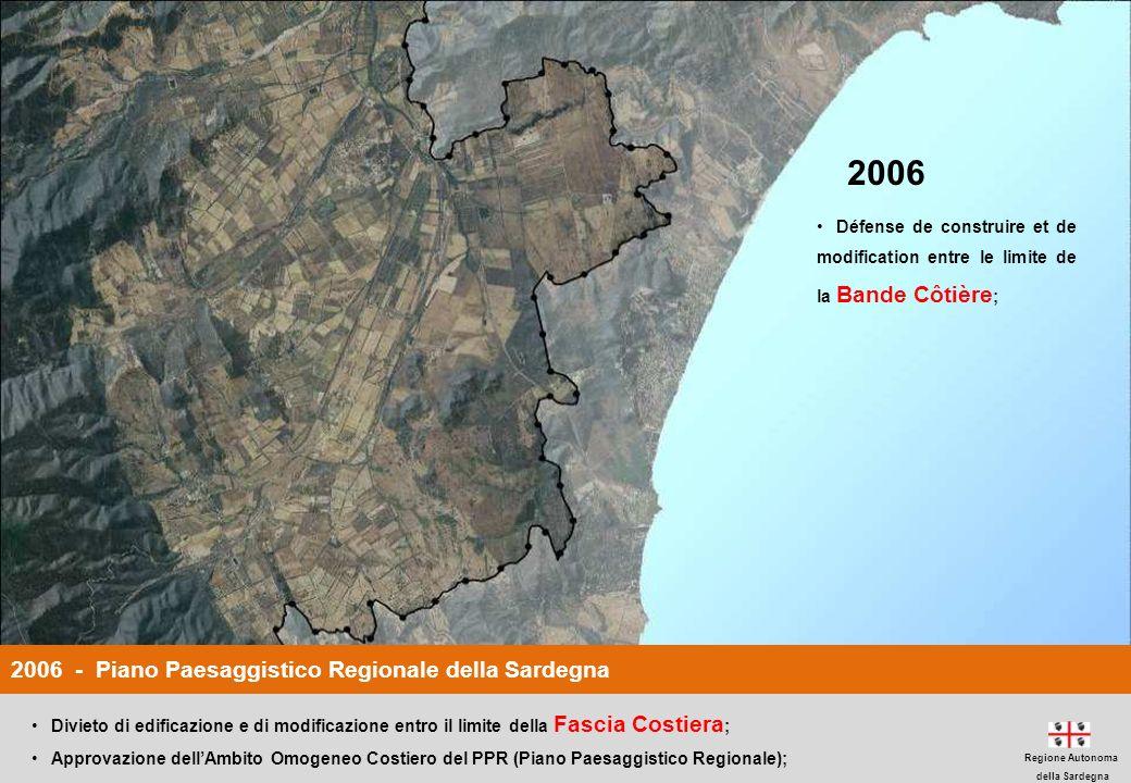 2006 2006 - Piano Paesaggistico Regionale della Sardegna