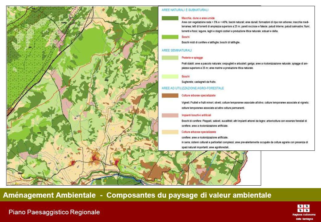 Aménagement Ambientale - Composantes du paysage di valeur ambientale