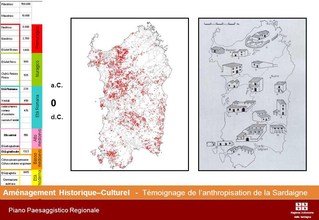 a.C. d.C. Aménagement Historique–Culturel - Témoignage de l'anthropisation de la Sardaigne. Regione Autonoma.