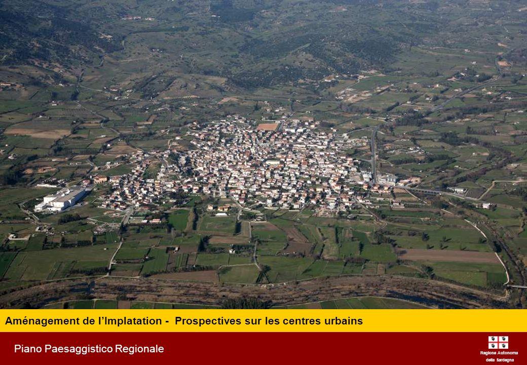 Aménagement de l'Implatation - Prospectives sur les centres urbains