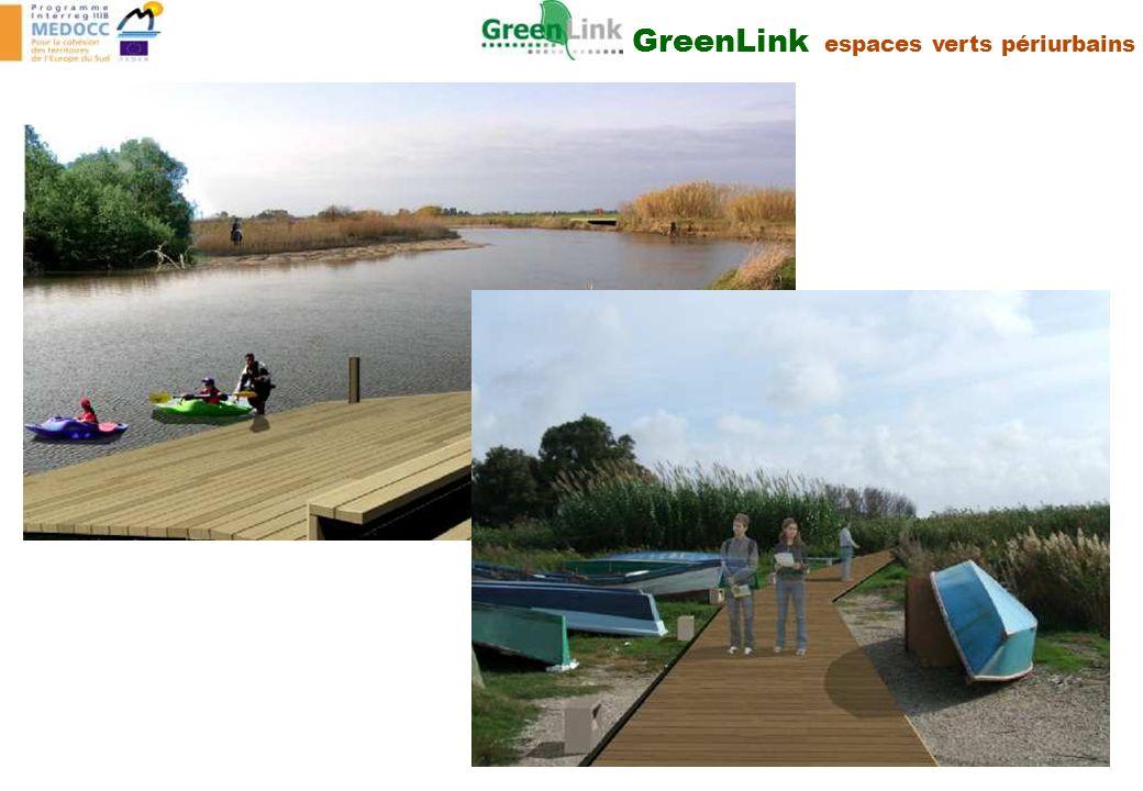 GreenLink espaces verts périurbains
