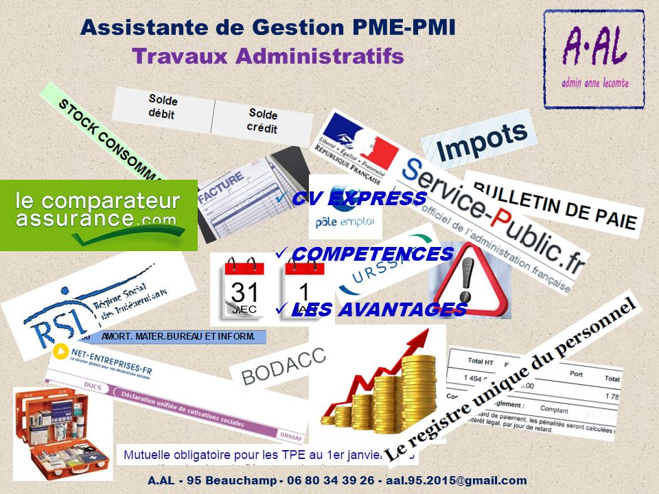 assistante de gestion pme-pmi
