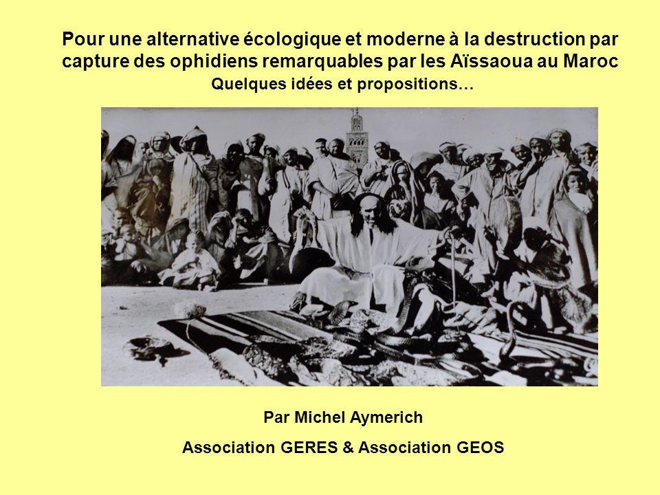 Association GERES & Association GEOS