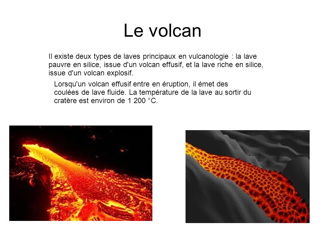Le volcan