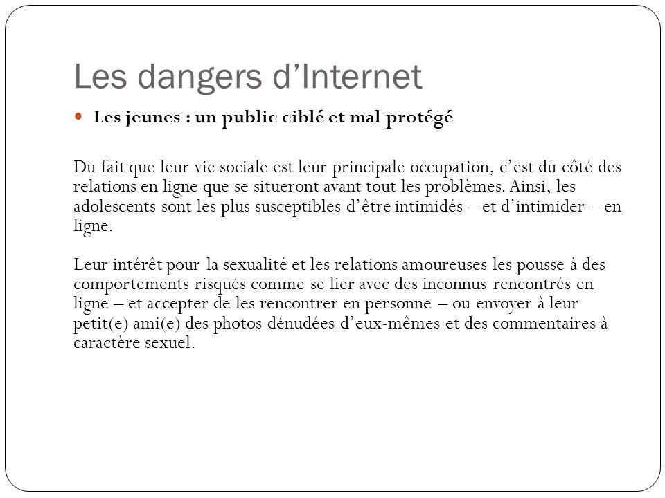 Les dangers des rencontres en ligne