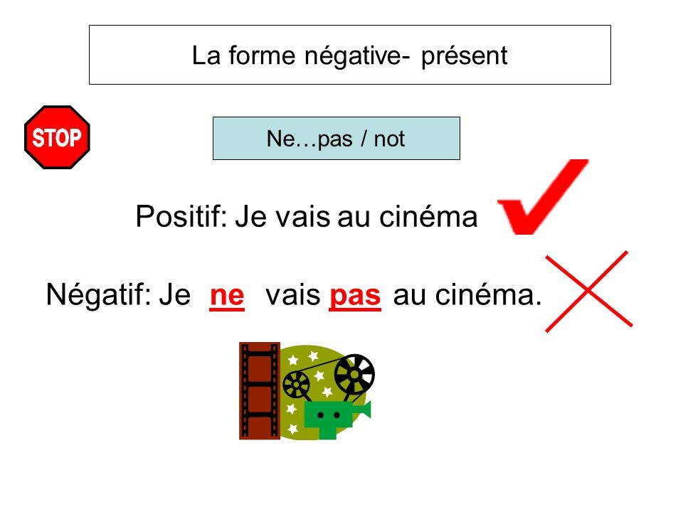 Positif: Je vais au cinéma
