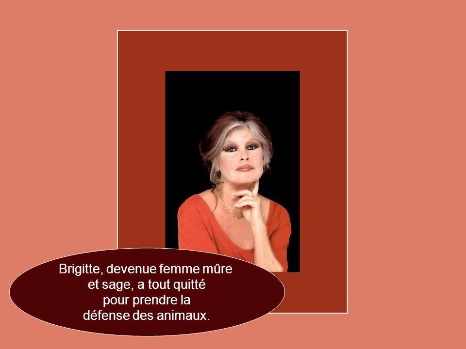 Brigitte, devenue femme mûre