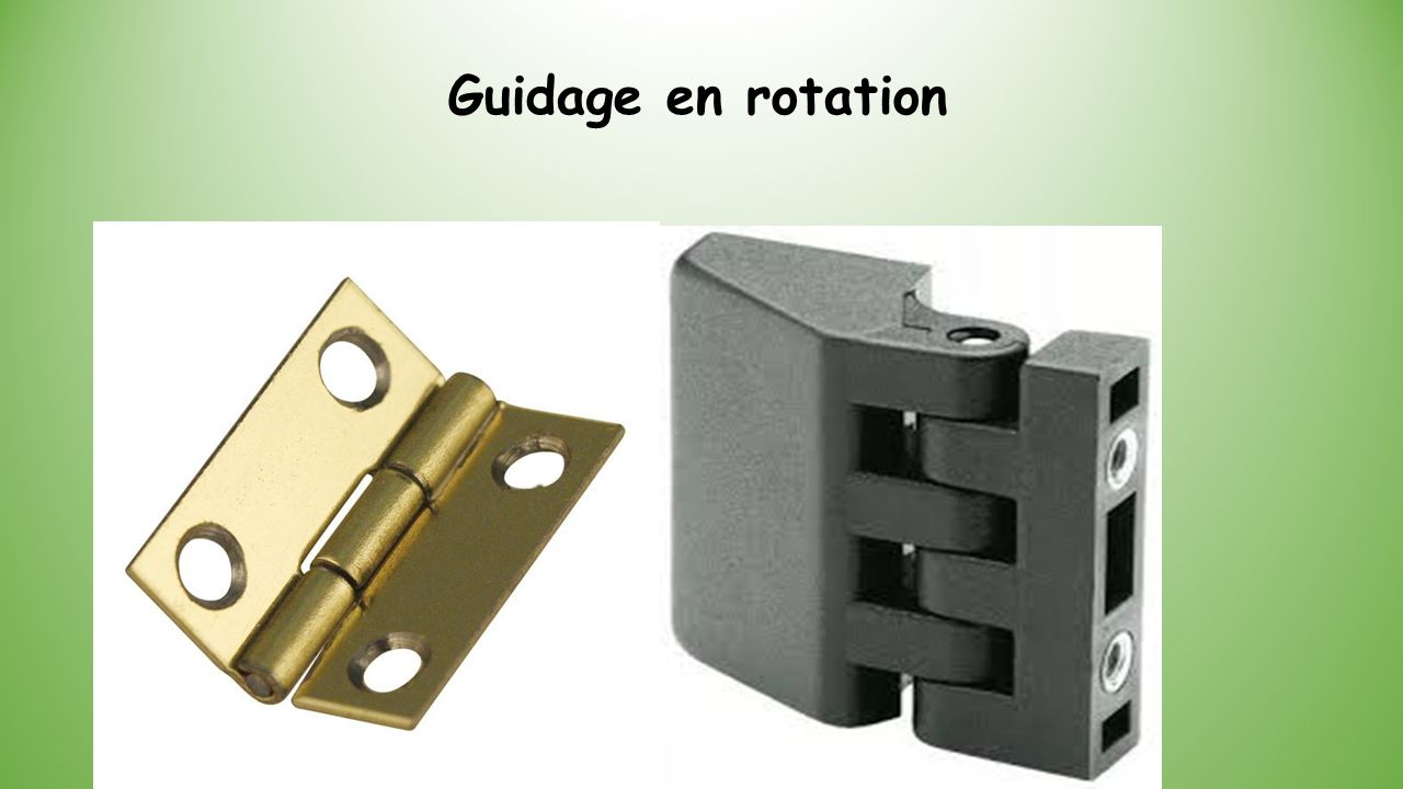 Guidage en rotation