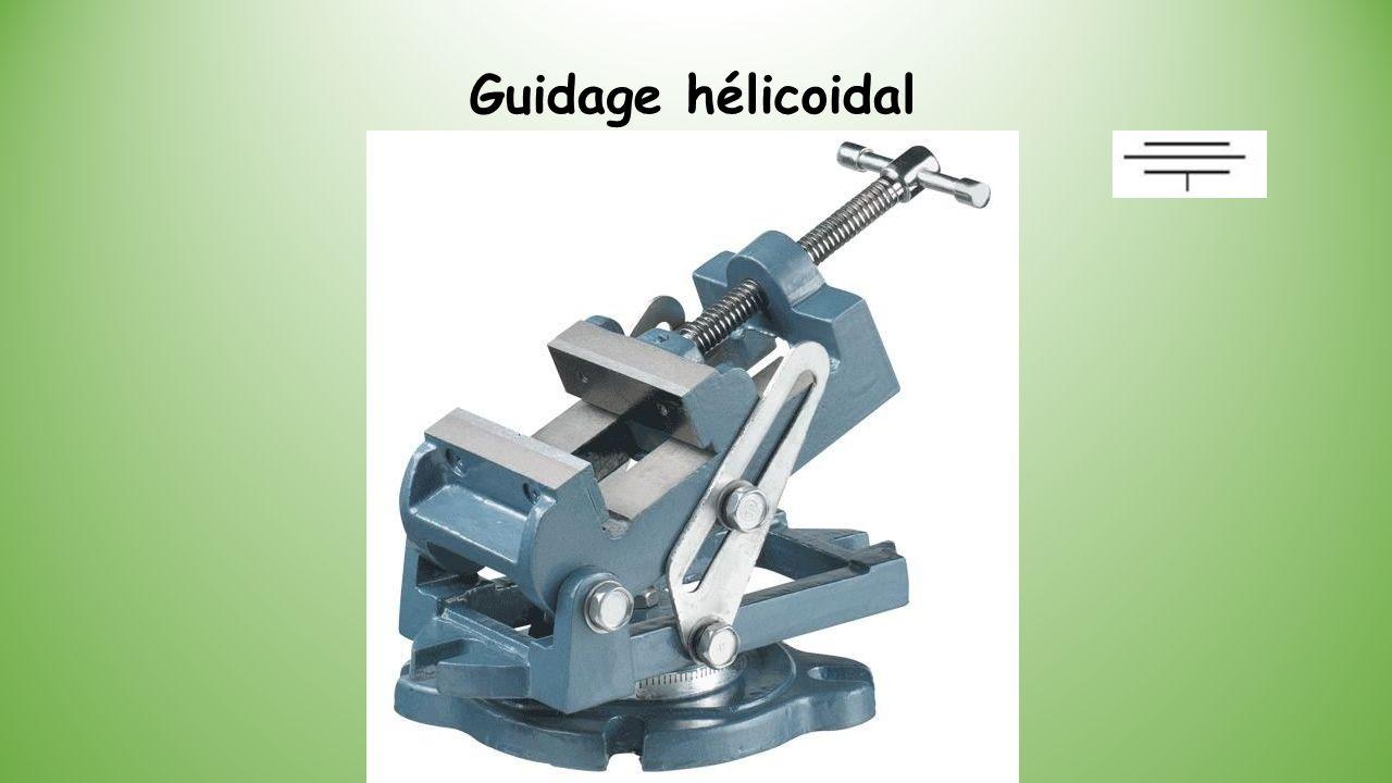 Guidage hélicoidal