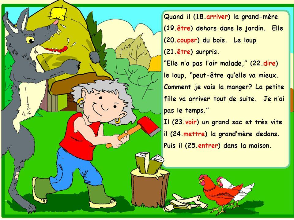 Petit chaperon rouge crit anim et illustr par sheila - Quand mettre du composte dans le jardin ...