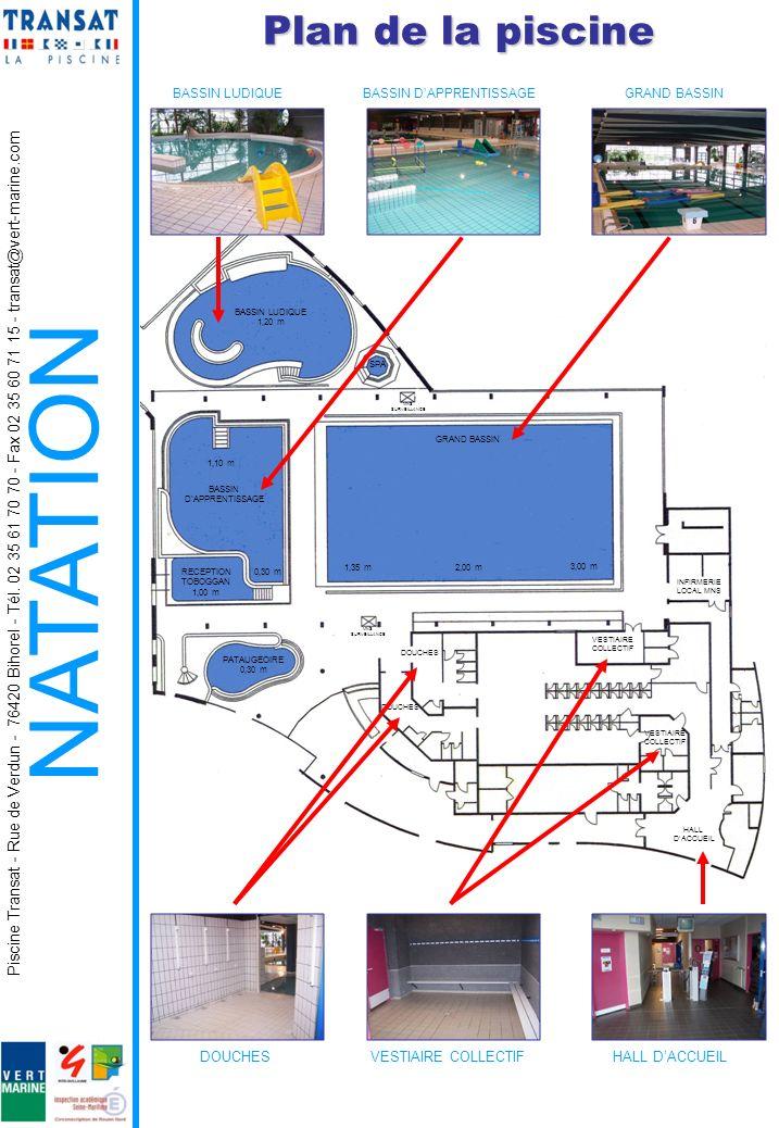 Natation scolaire premier degr livret d accueil ppt for Plan local piscine