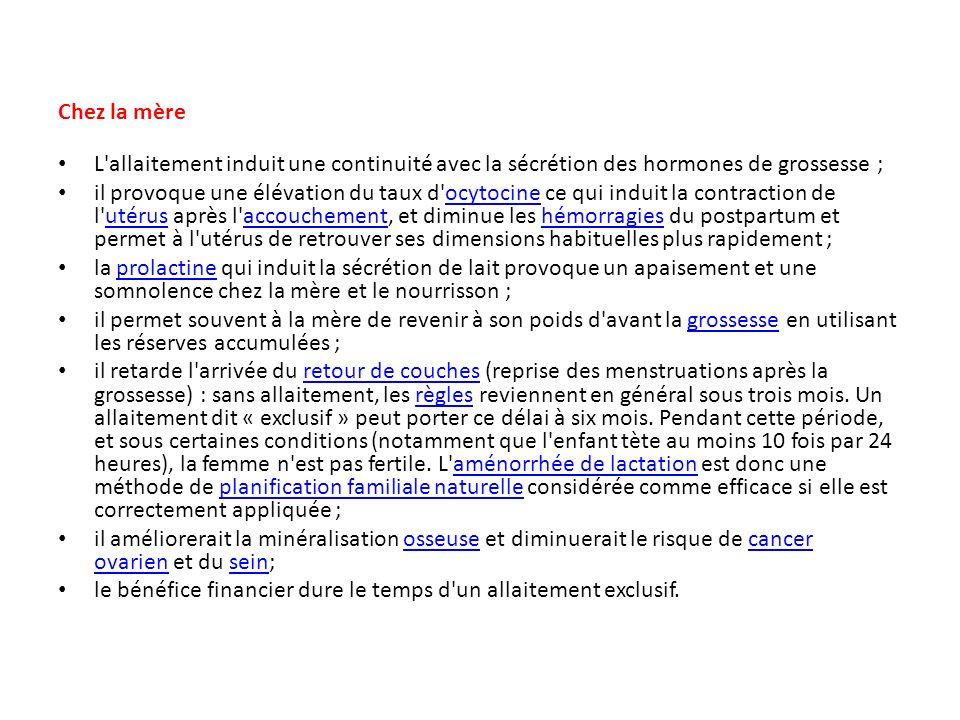 Allaitement maternel pr sent par dr zaamouche ppt video online t l charger - Allaitement retour de couche ...