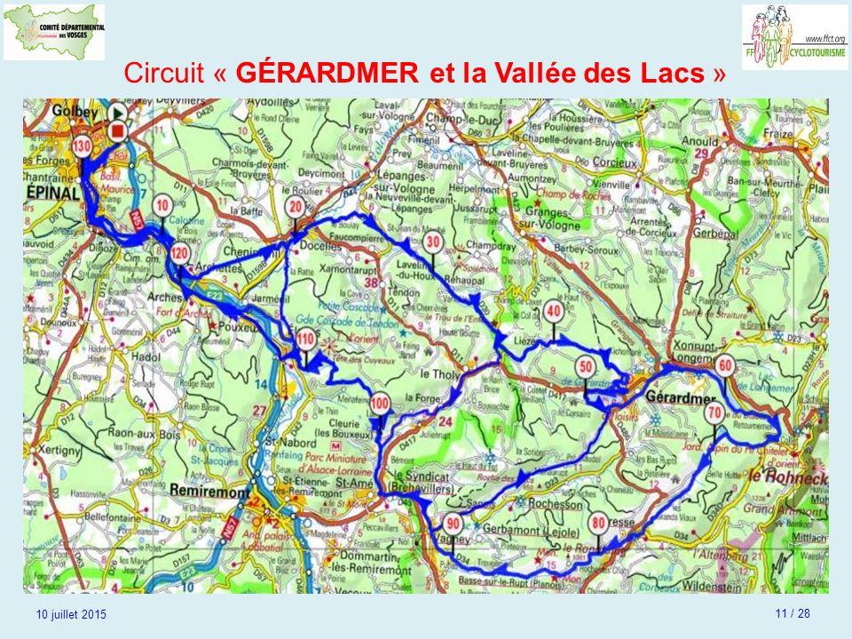 Circuit « GÉRARDMER et la Vallée des Lacs »