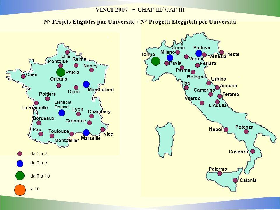 VINCI 2007 - CHAP III/ CAP III