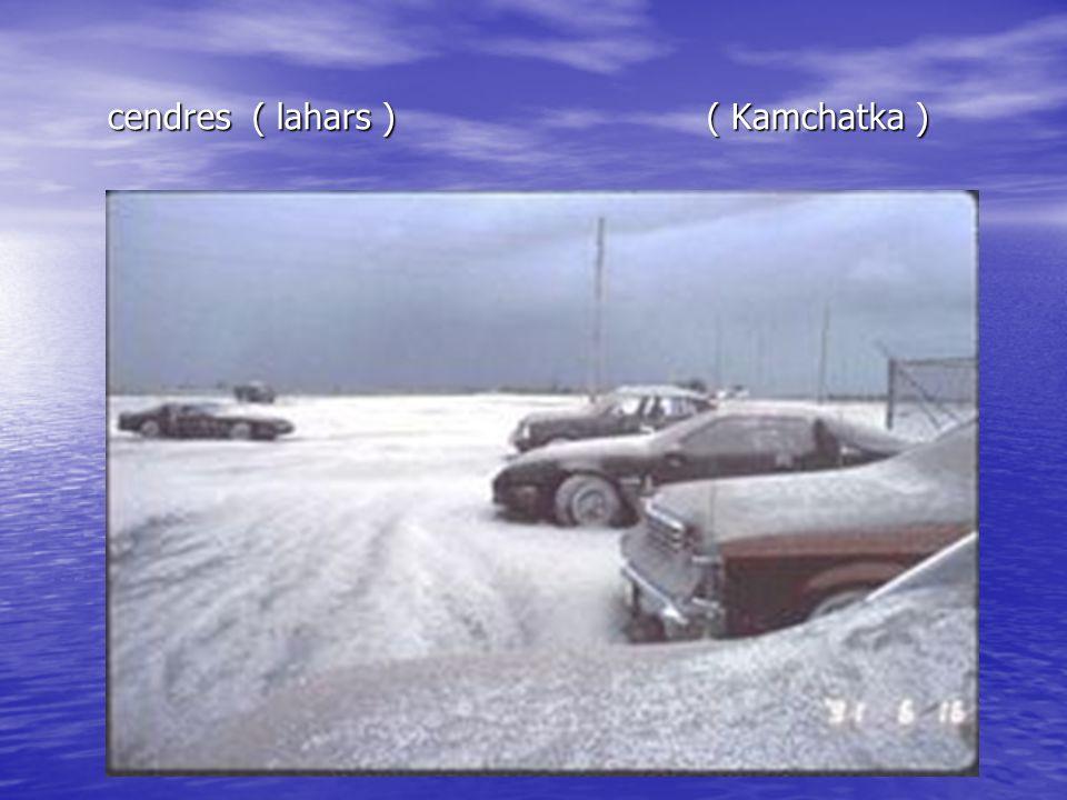 cendres ( lahars ) ( Kamchatka )
