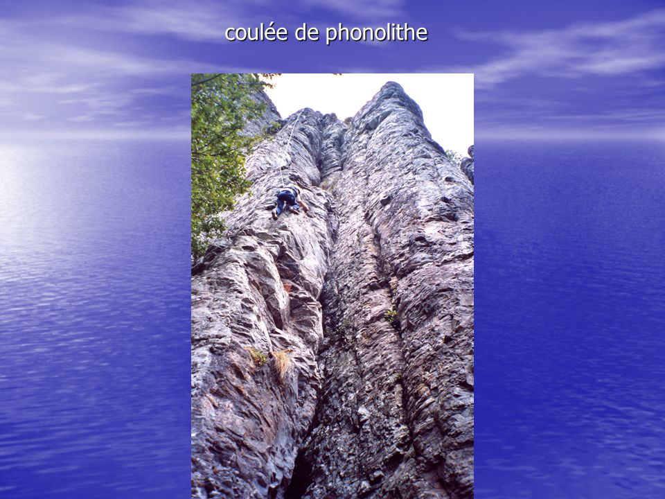 coulée de phonolithe