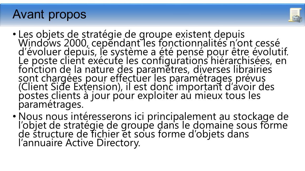 #232 Appliquer une stratgie de groupe un domaine Active
