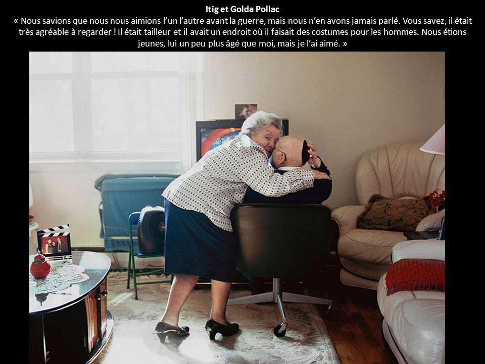 Itig et Golda Pollac « Nous savions que nous nous aimions l'un l'autre avant la guerre, mais nous n'en avons jamais parlé.