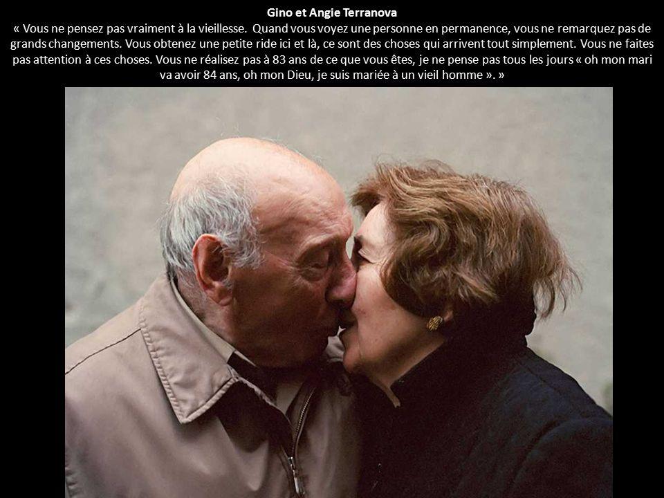 Gino et Angie Terranova « Vous ne pensez pas vraiment à la vieillesse