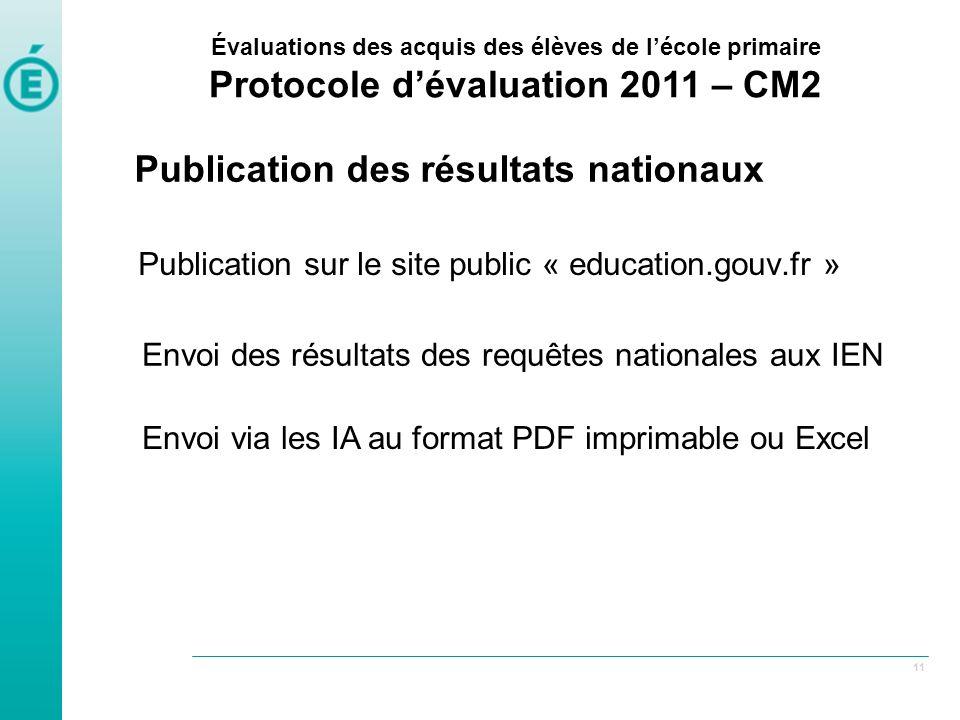 Publication sur le site public « education.gouv.fr »