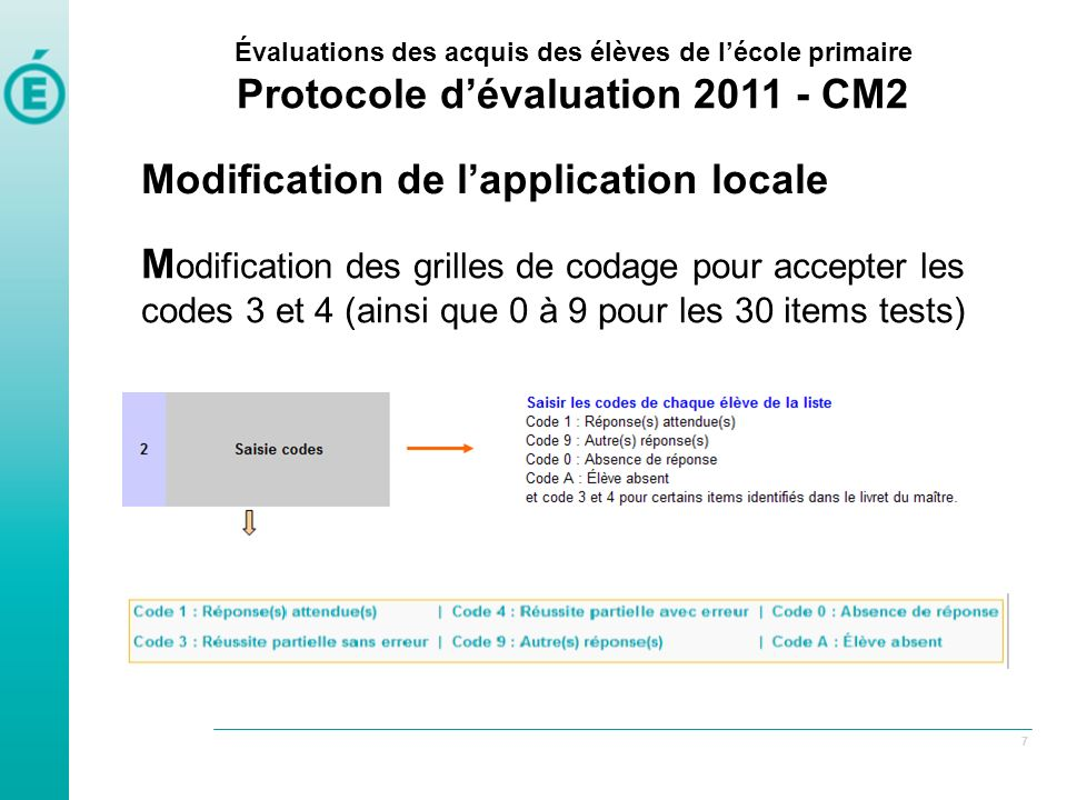 Modification de l'application locale