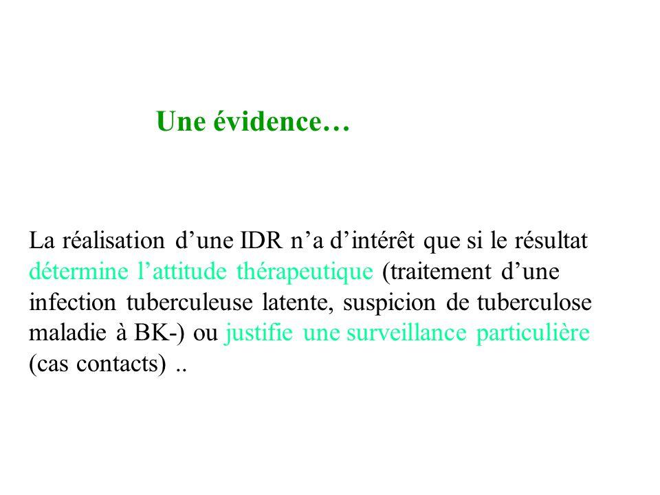 IDR Une évidence…