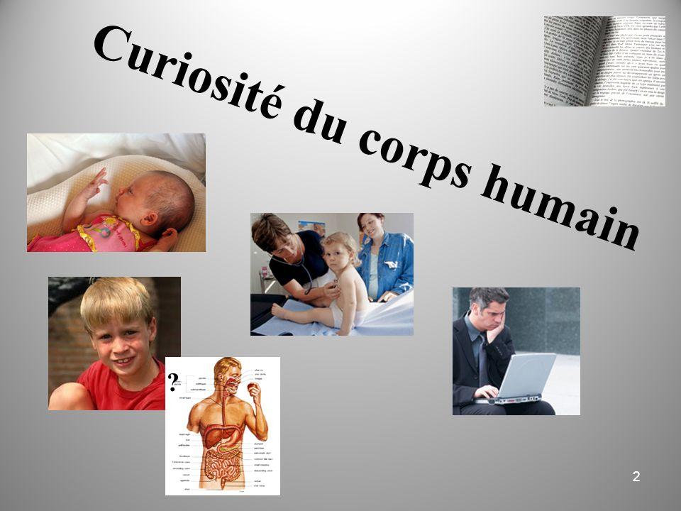 Curiosité du corps humain