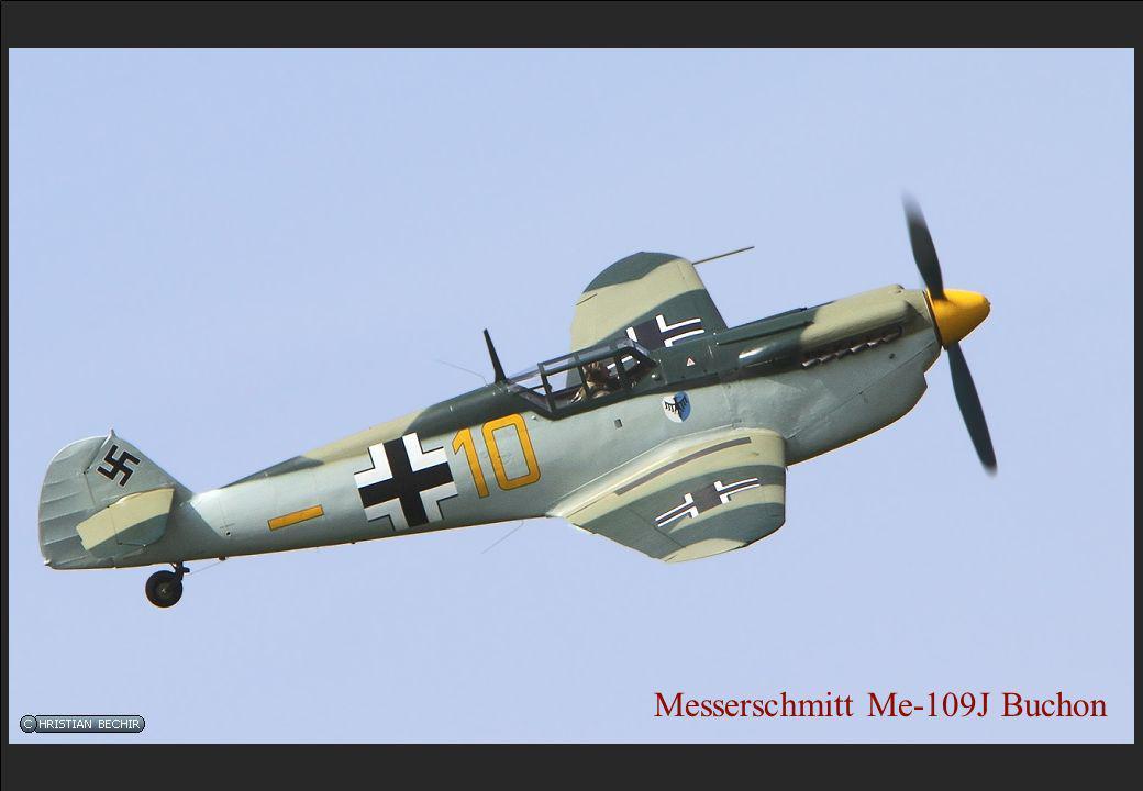 Messerschmitt Me-109J Buchon