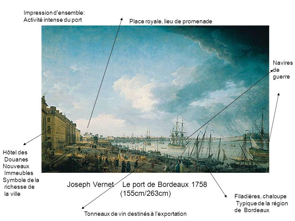 Joseph Vernet Le port de Bordeaux 1758 (155cm/263cm)