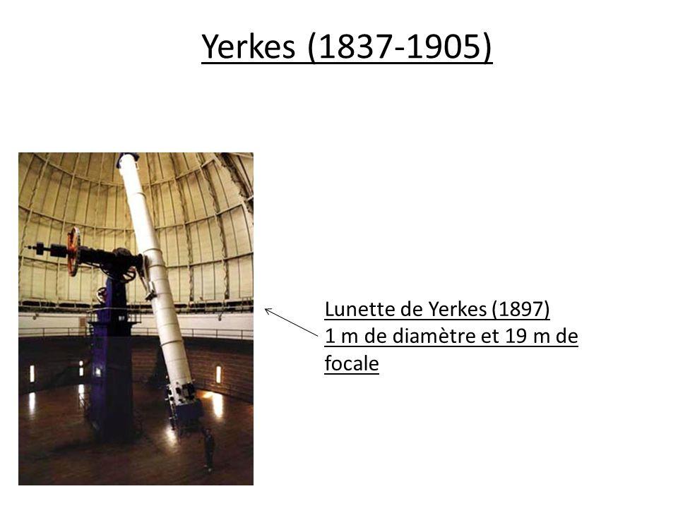 Yerkes (1837-1905) Lunette de Yerkes (1897)