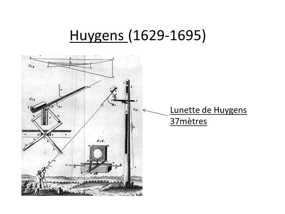 Huygens (1629-1695) Lunette de Huygens 37mètres