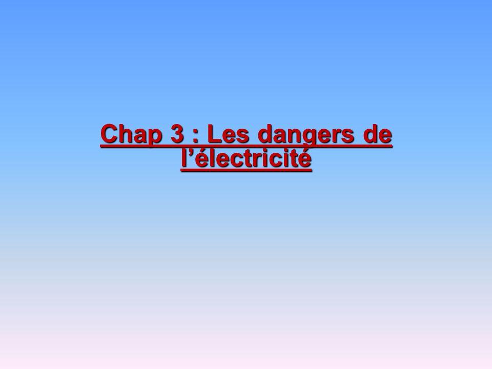 Chap 3 les dangers de l lectricit ppt video online for Les dangers de l electricite