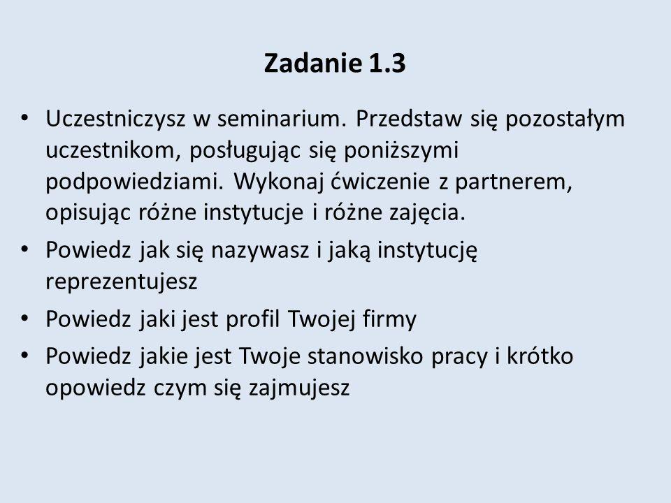 Zadanie 1.3