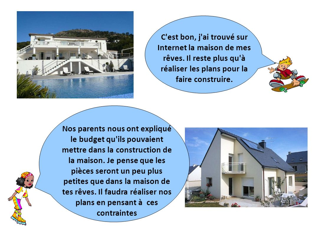 Nos parents envisagent la construction d 39 une maison ppt for Construire mes propres plans de maison