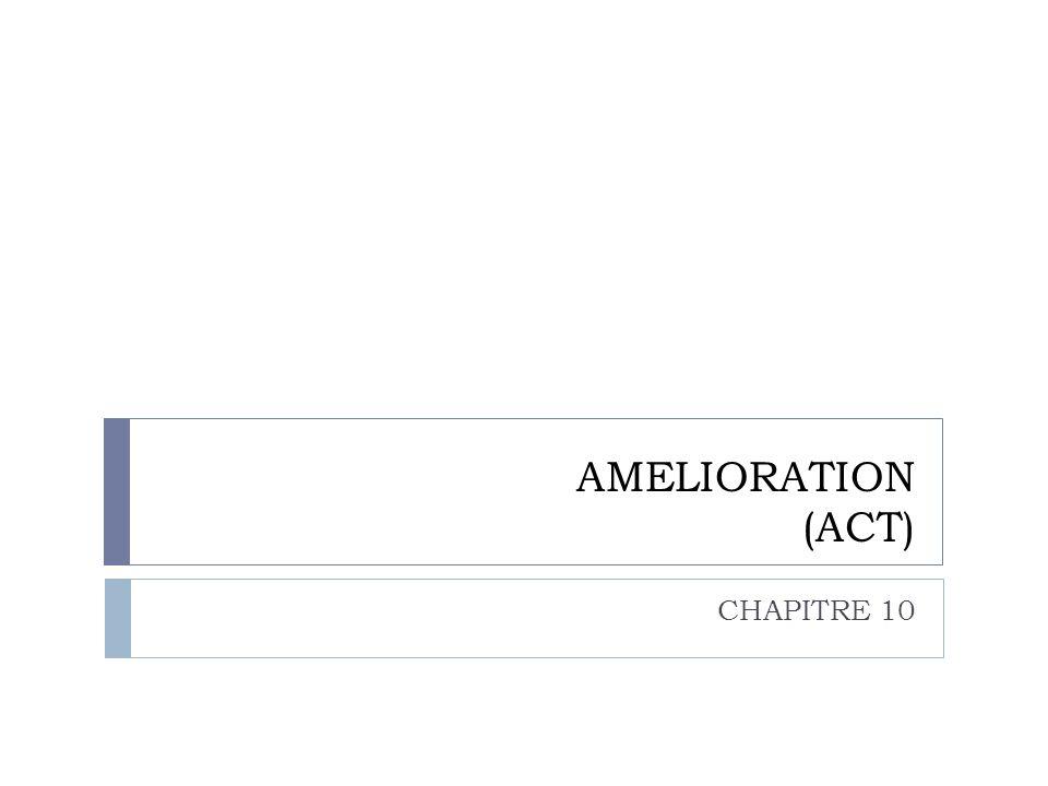 AMELIORATION (ACT) CHAPITRE 10