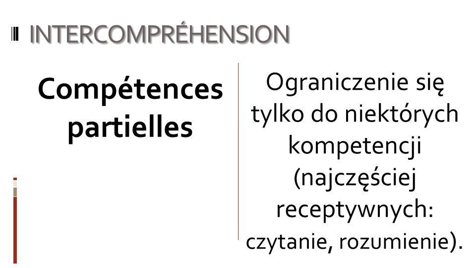 Compétences partielles