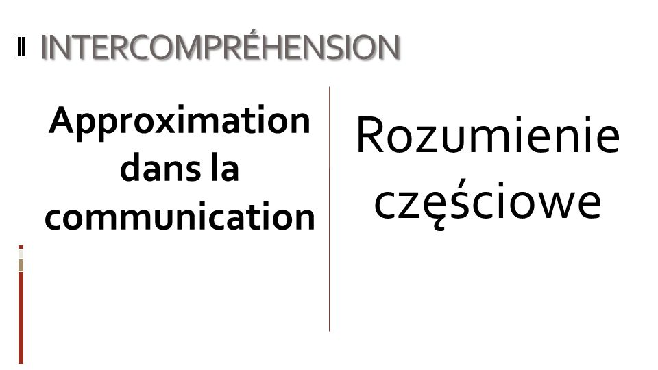 Approximation dans la communication