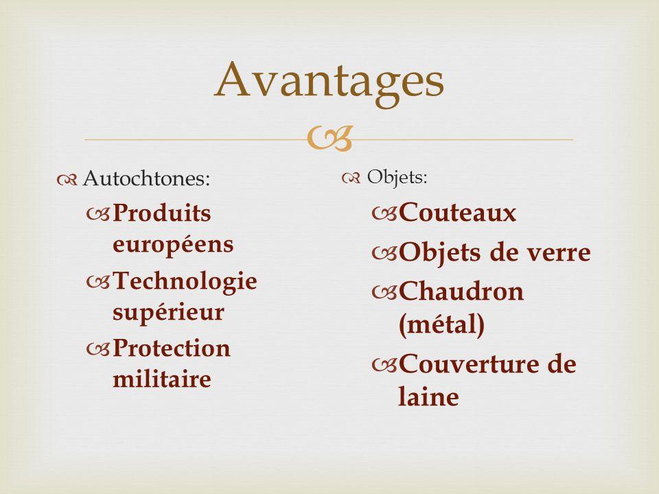 Avantages Couteaux Objets de verre Chaudron (métal)
