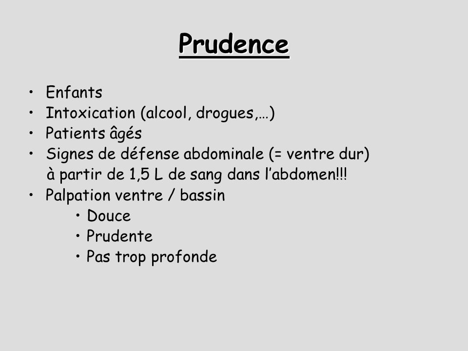 Prudence Enfants Intoxication (alcool, drogues,…) Patients âgés