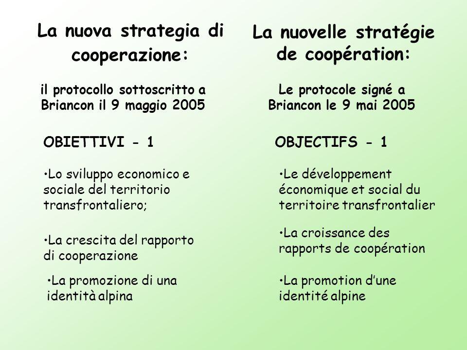 La nuova strategia di cooperazione: