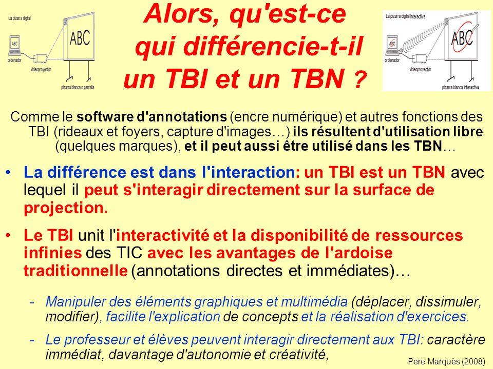 Alors, qu est-ce qui différencie-t-il un TBI et un TBN