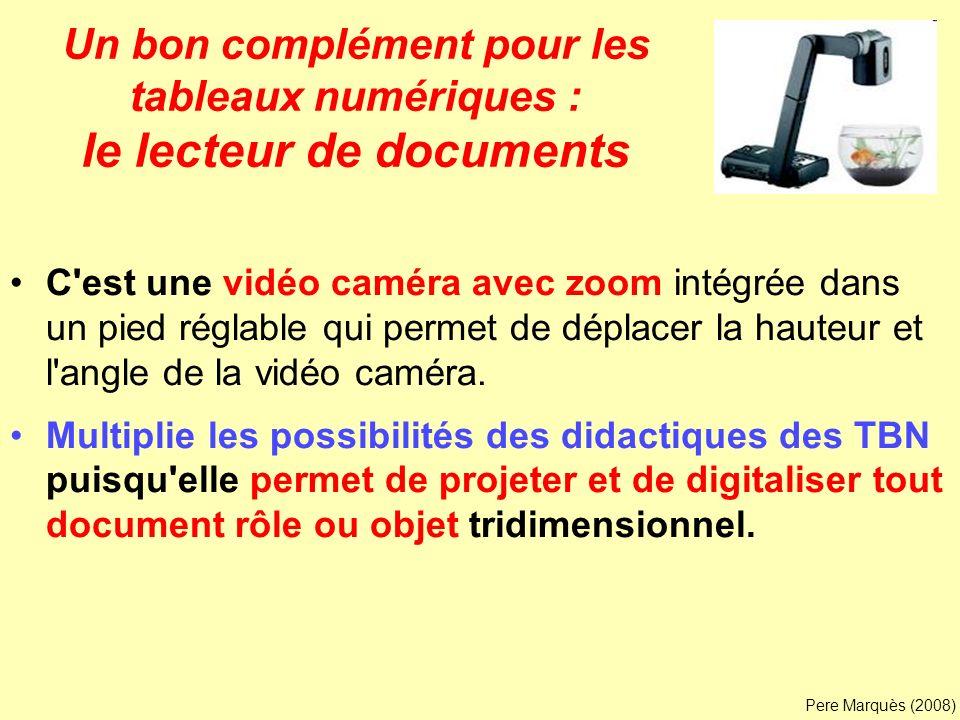 Un bon complément pour les tableaux numériques : le lecteur de documents
