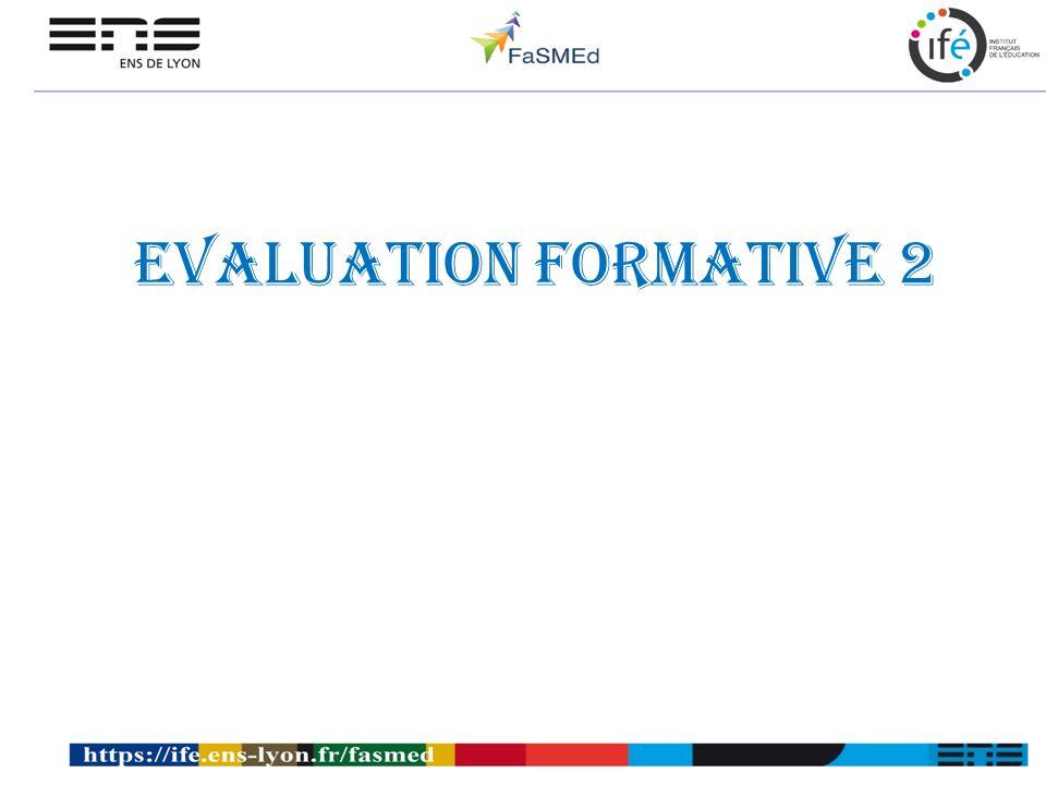 Evaluation formative 2