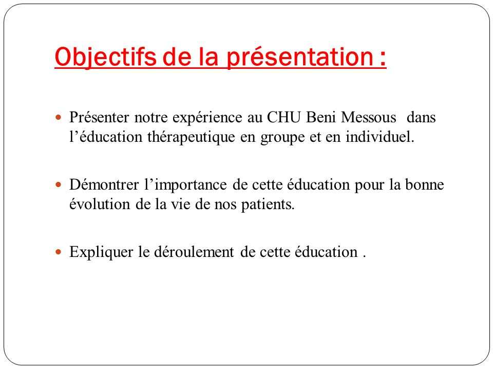 Rencontres education therapeutique